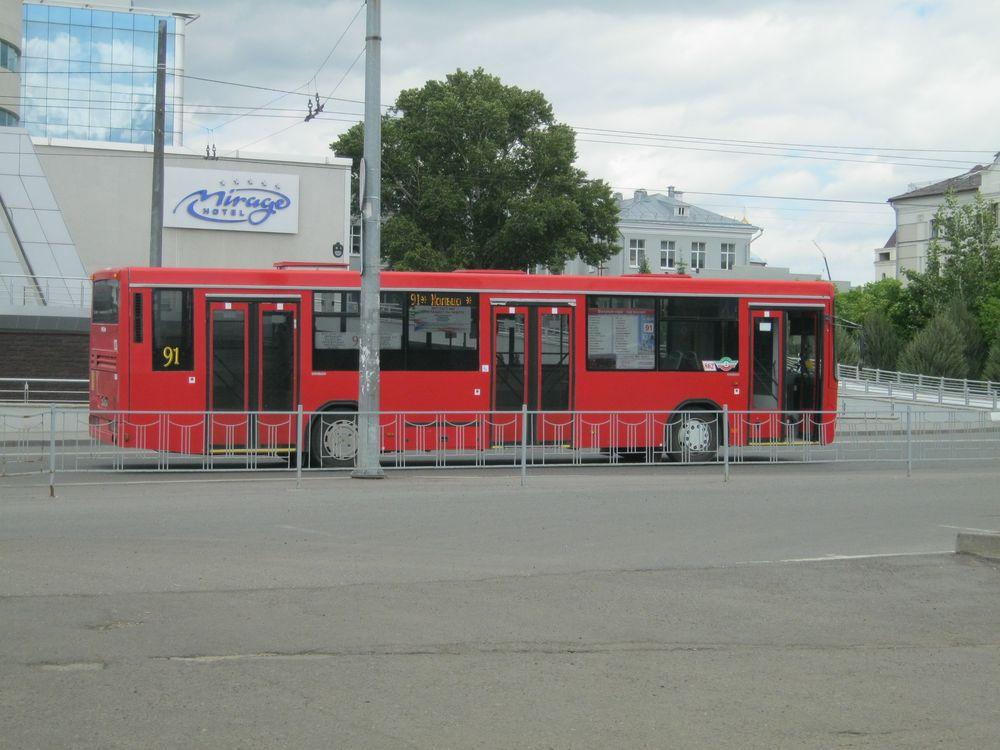 В Казани автобусы красные, а троллейбусы зеленые